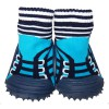 Baby boys Socks shoes with grippy rubber | Blue sneakers