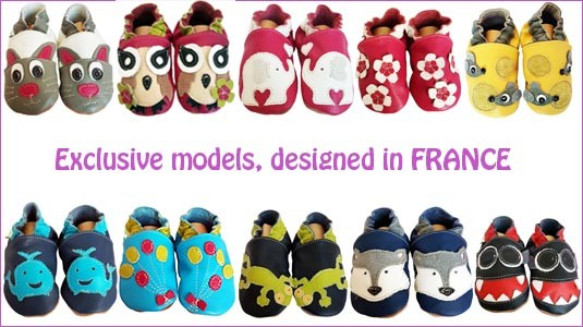 Soft leather baby shoes - C2BB