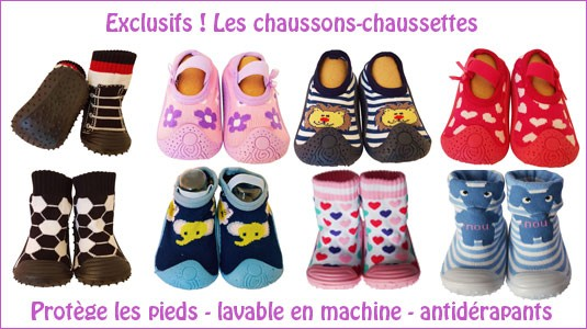 Chaussons-chaussettes - C2BB