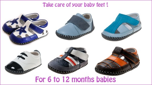 Baby boys first step shoes