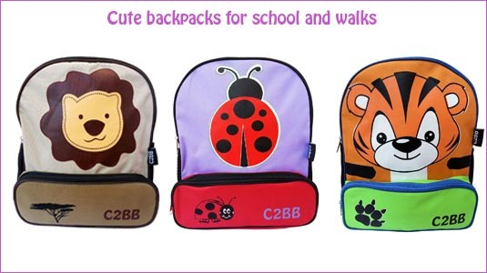 Cute backpacks for children